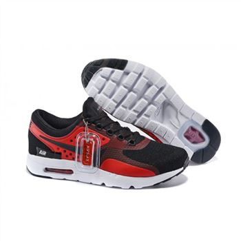 Mens Air Max Zero Qs Shoes Black Red