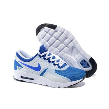 Mens Air Max Zero Qs Shoes Blue White