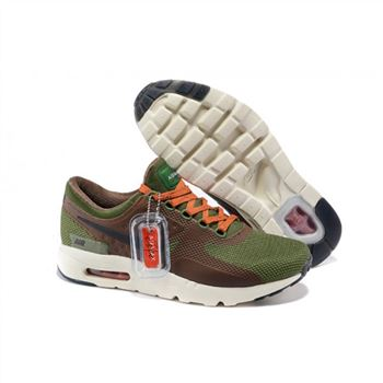 Mens Air Max Zero Qs Shoes Green Brown Orange