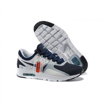 Mens Air Max Zero Qs Shoes Navy White