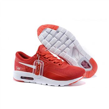 Mens Air Max Zero Qs Shoes Red White