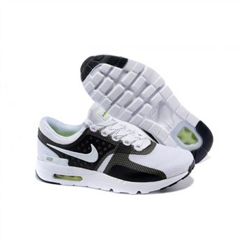 Mens Air Max Zero Qs Shoes White Black