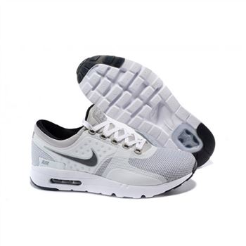 Mens Air Max Zero Qs Shoes White Light Gray