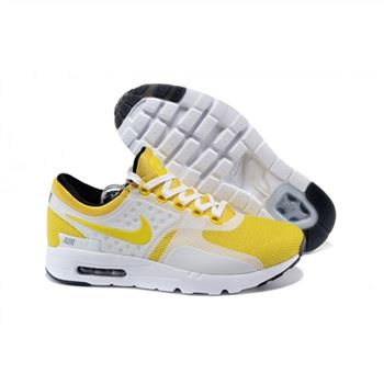Mens Air Max Zero Qs Shoes Yellow White