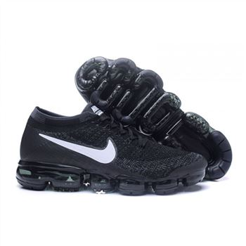 Mens Nike Air VaporMax Flyknit Black White Shoes