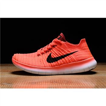 Mens Nike Free RN Shoes Watermelon Pink