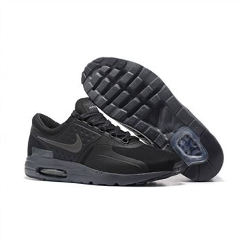 Nike Air Max Zero Qs Shoes For Men All Black