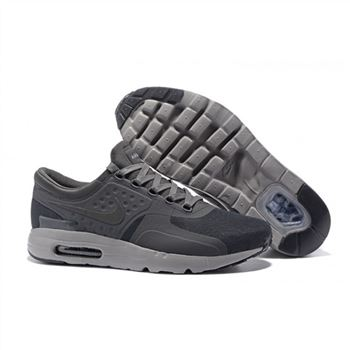 Nike Air Max Zero Qs Shoes For Men Grey Black