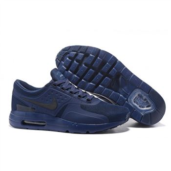 Nike Air Max Zero Qs Shoes For Men Navy Black
