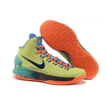Mens Nike Zoom KD 5 All Star Green Blue Orange