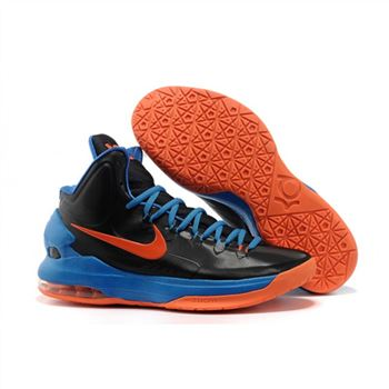 Mens Nike Zoom KD 5 Black Blue Orange