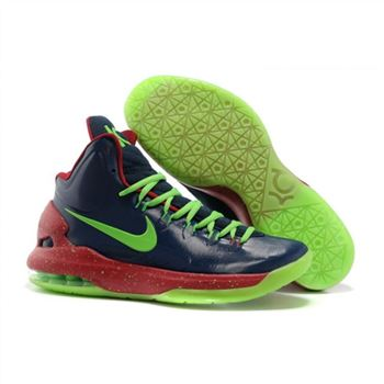 Mens Nike Zoom KD 5 Black Green Red