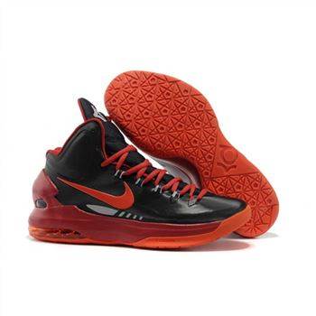 Mens Nike Zoom KD 5 Black Wine