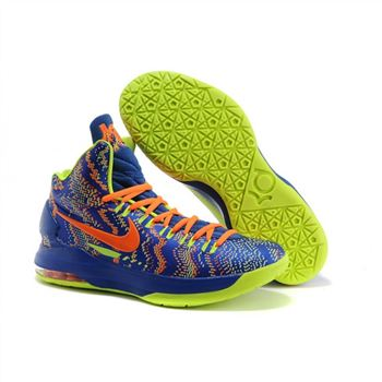 Mens Nike Zoom KD 5 Blue Green