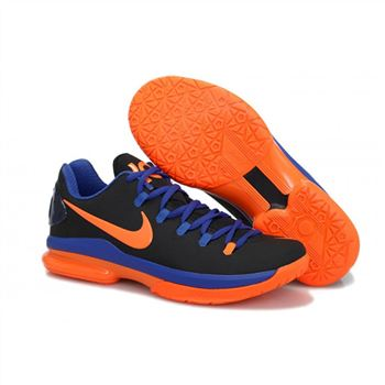 Mens Nike Zoom KD 5 Elite Black Blue Orange