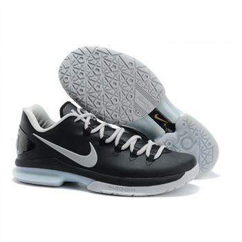 Mens Nike Zoom KD 5 Elite Black Grey