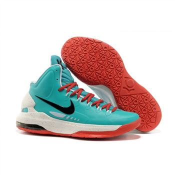 Mens Nike Zoom KD 5 Green White Red