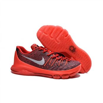 Mens Nike KD 8 Basketball Shoes Bright Crimson