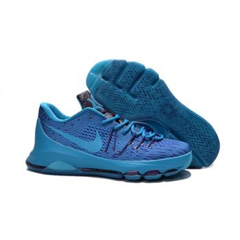 Mens Nike KD 8 EP Basketball Shoes Blue