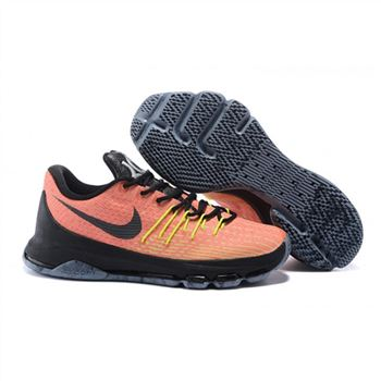 Mens Nike KD 8 EP Basketball Shoes Hunt's Hill Sunrise