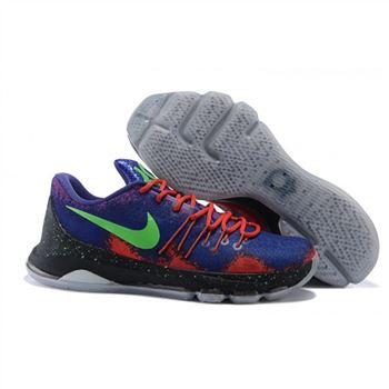 Mens Nike KD 8 EP Basketball Shoes Spray Paint