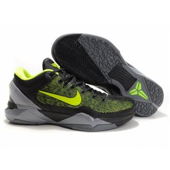 Mens Nike Kobe 7 Black Grey Green
