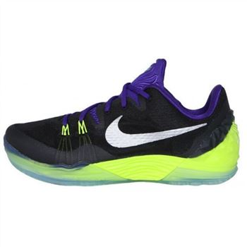 Mens Nike Kobe Venomenon 5 Black Purple Green