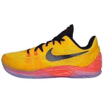 Mens Nike Kobe Venomenon 5 Yellow Orange Black