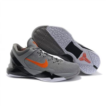 Mens Nike Zoom Kobe 7 Grey Black White